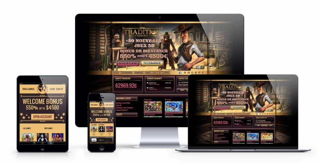 désormais jouer au casino sur votre mobile