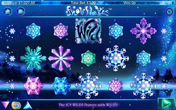 faites tourner les flocons de neige avec snowflakes